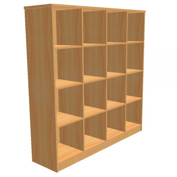 16 Section Box Storage Unit