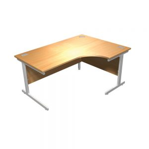 Crescent Focus 100 Cantilever Desk