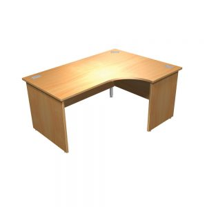 Crescent Focus 100 Panel End Desk