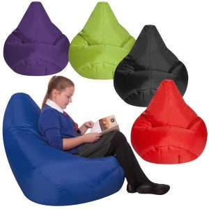 Large Bean Bag Reading Chair