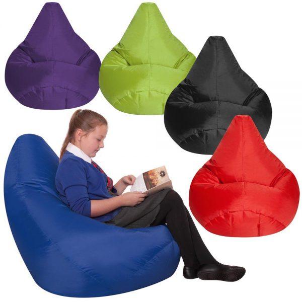 Large Bean Bag Reading Chair