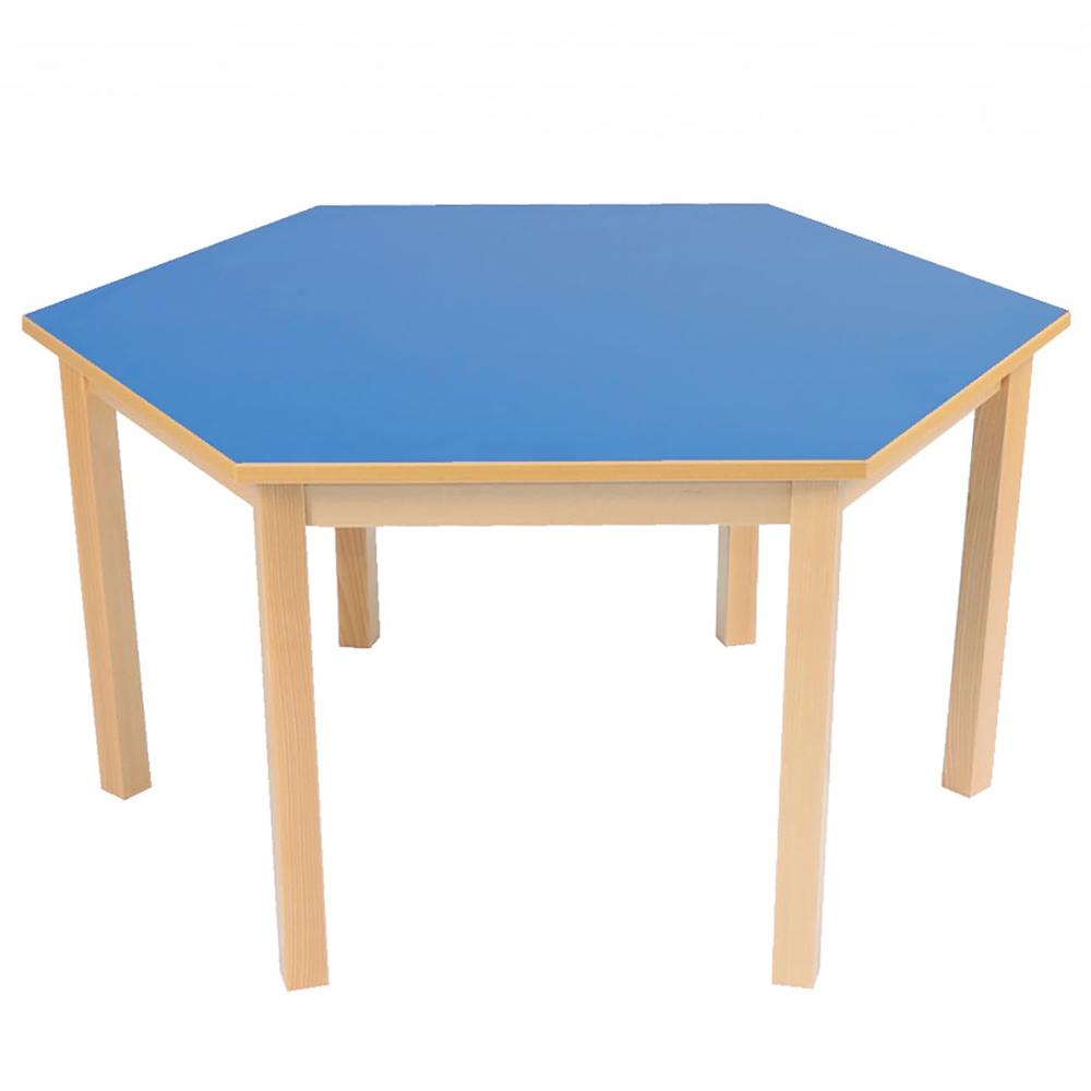 Solar Hexagonal Nursery Table Range Education Furniture