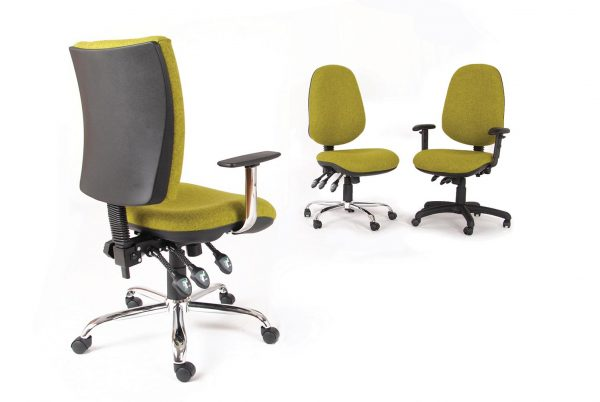 BAL602 Fully Upholstered Task Operator Seating