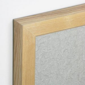 Natural Grey Wooden Frame Eco Board