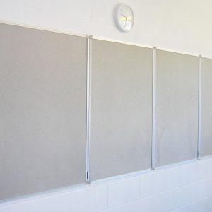 Natural Grey Aluminium Frame Eco Board