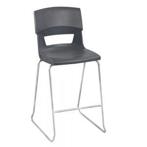 Postura High Chair Slate